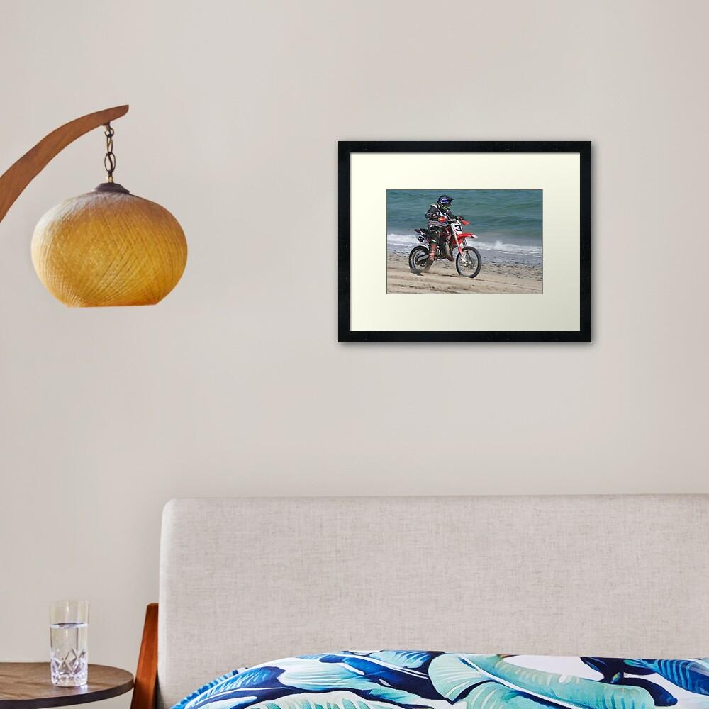 Motocross Framed Art Print