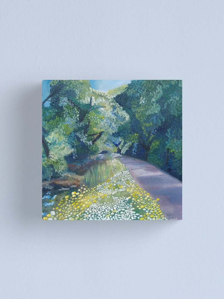 Alternate view of Step into Spring Canvas Print