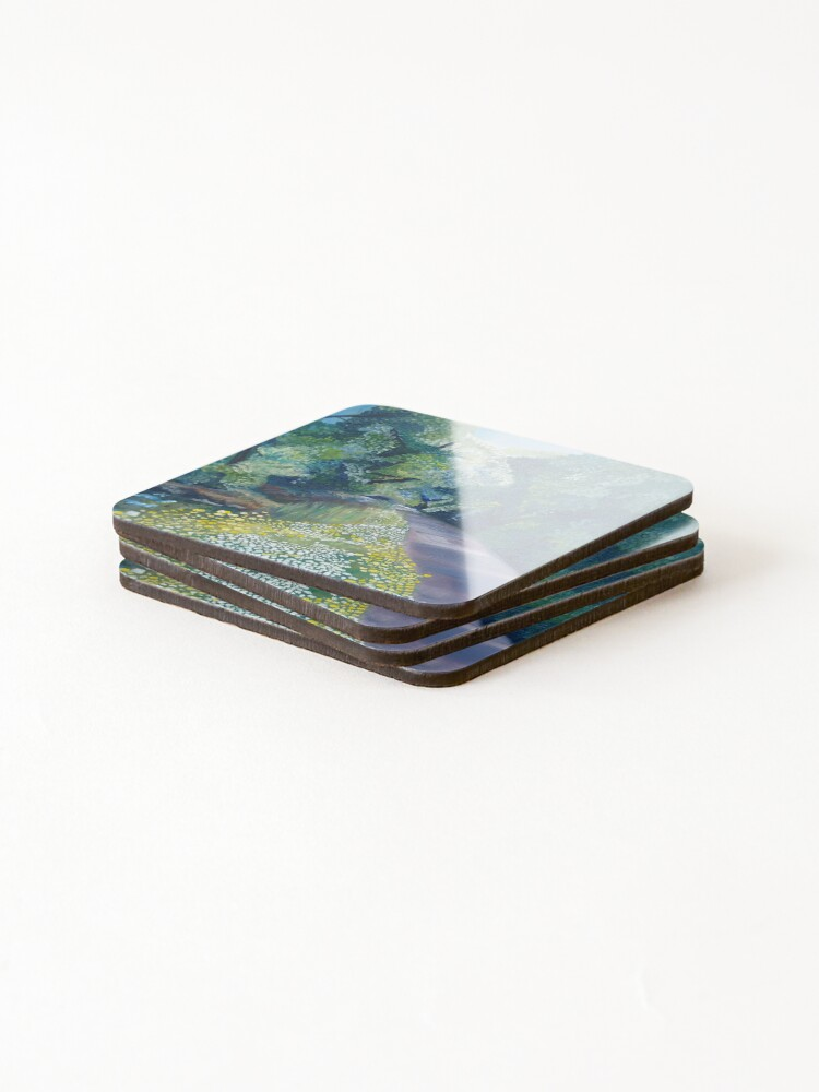 Alternate view of Step into Spring Coasters (Set of 4)