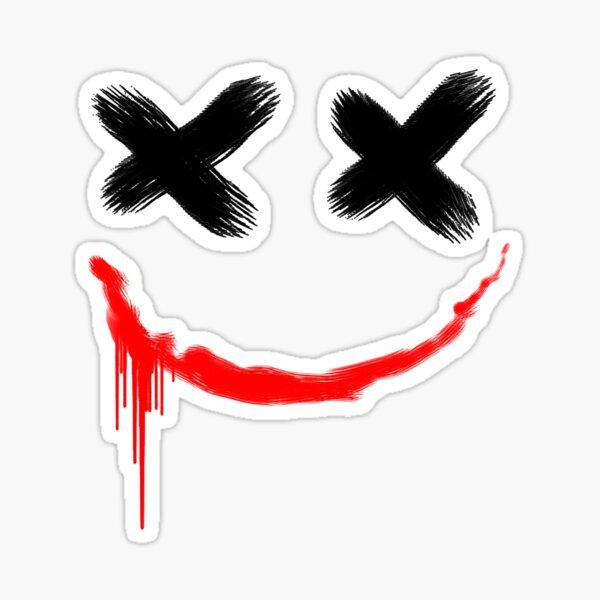 Joker Funny Smile Sticker