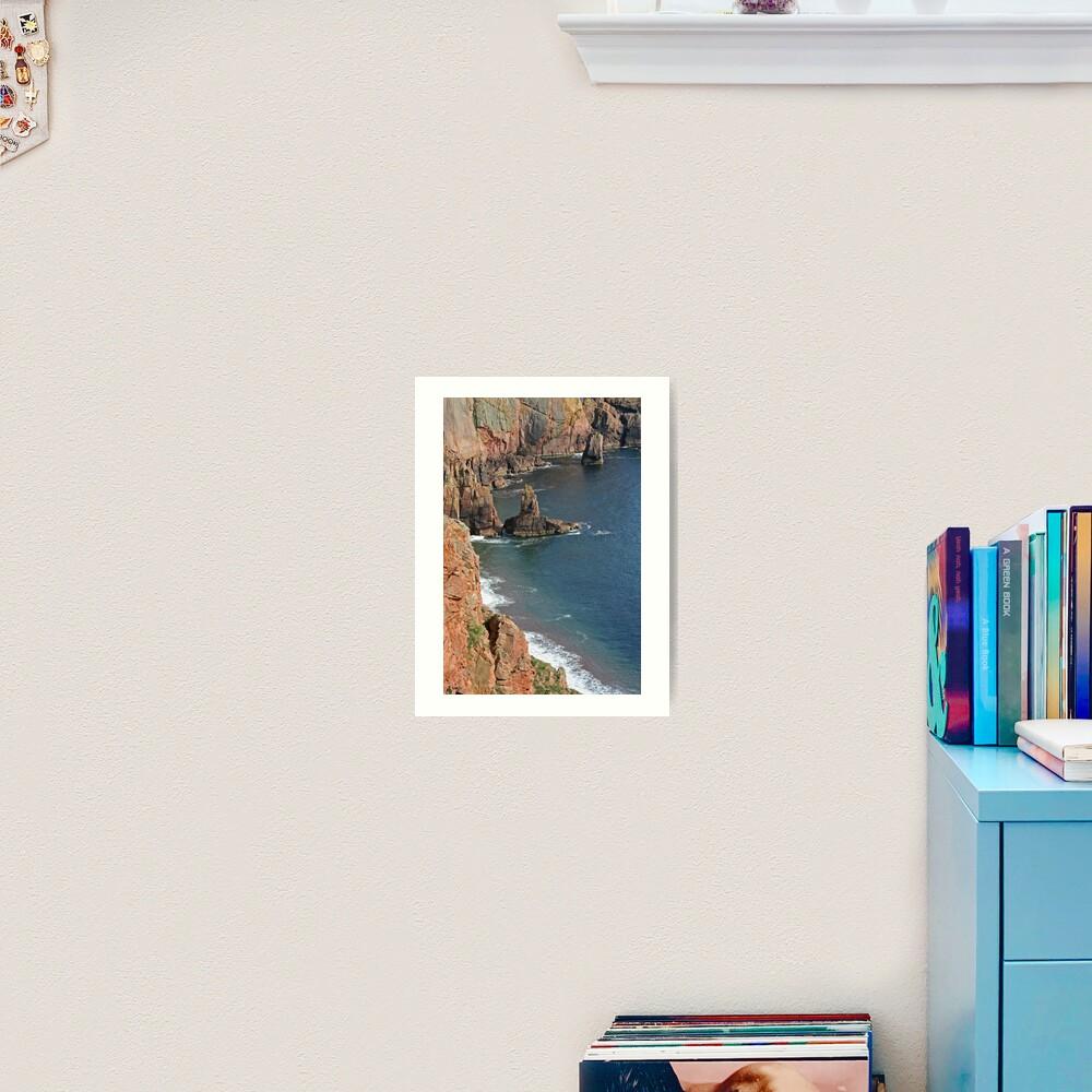 Shetland's riviera? Art Print