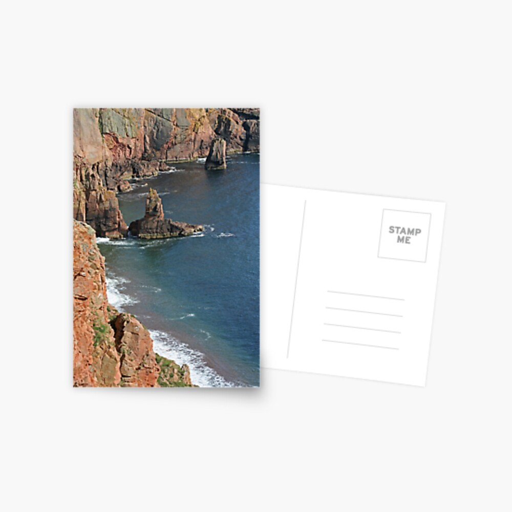 Shetland's riviera? Postcard