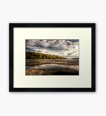 Fall Colors Coming On Framed Print