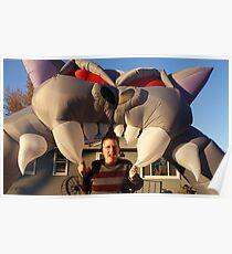 Big Cat - Big Teeth! Poster
