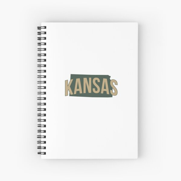Copy of State of Kansas Spiral Notebook