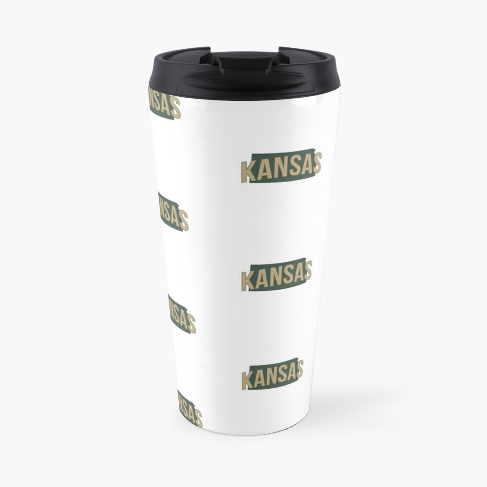 State of Kansas Travel Mug