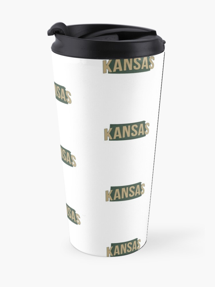 Alternate view of State of Kansas Travel Mug