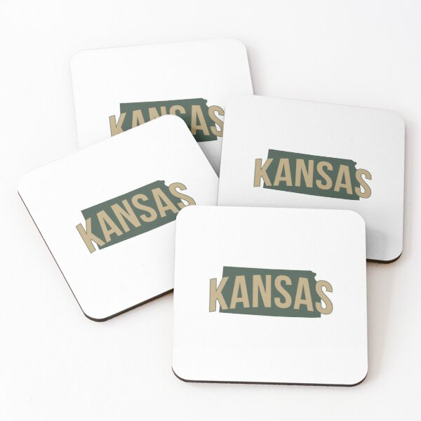 Copy of State of Kansas Coasters (Set of 4)