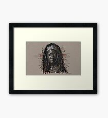 The Walking Dead Michonne Framed Print