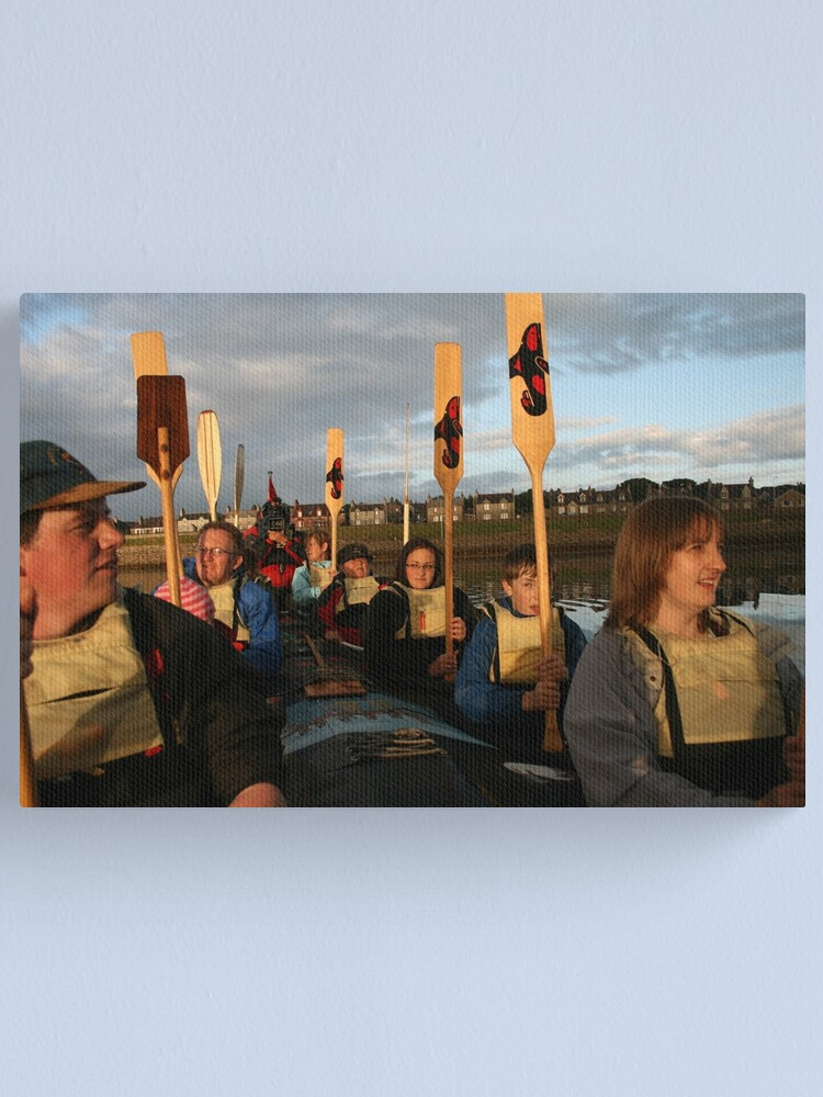 Alternate view of Sunset Salute Canvas Print