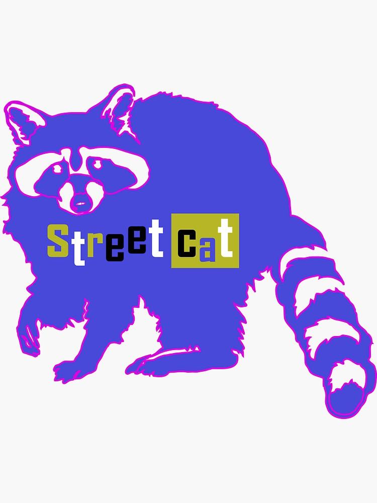 Raccoon Street Cat by a-roderick
