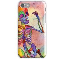 Rainbow Skeleton iPhone Case/Skin