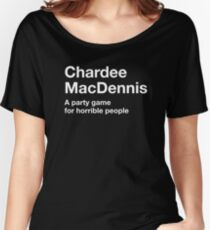Chardees Against Humanity Women's Relaxed Fit T-Shirt
