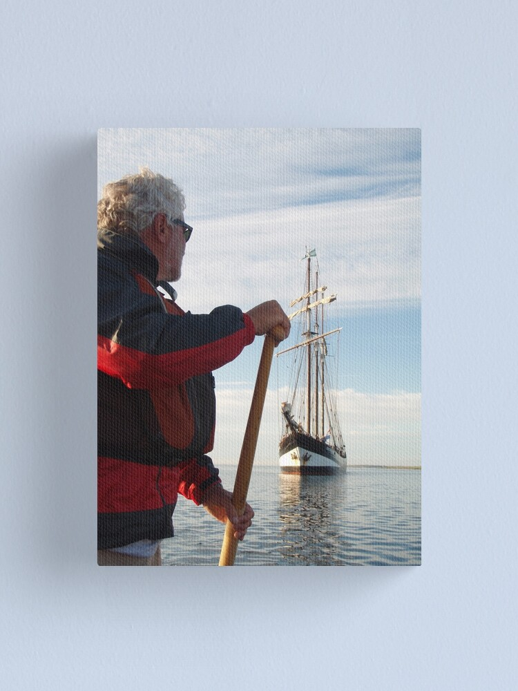 Alternate view of Sailing Tall Canvas Print