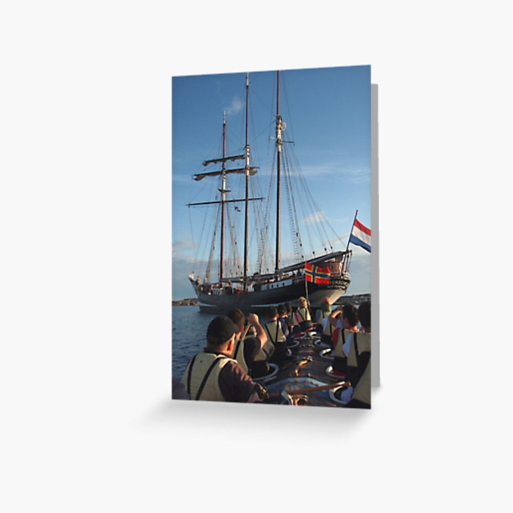 Under the stern Greeting Card