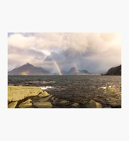 Elgol Rainbows Isle of Skye Photographic Print