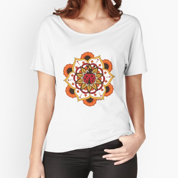 Coccinelle amoureuse T-shirt coupe relax