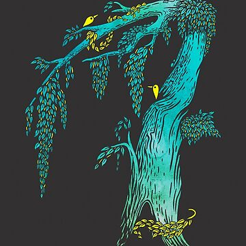 Tree Birds by BootsBoots