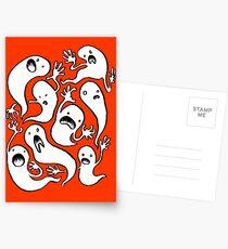 Ghosties! Postcards