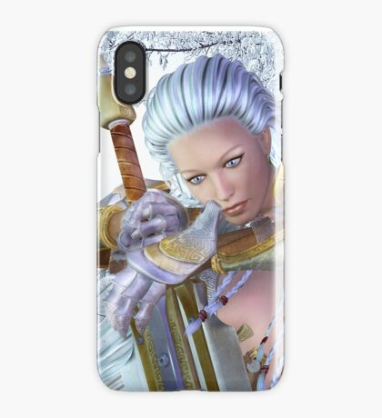 Frozen in thought iPhone Case