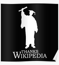 Thanks Wikipedia Poster