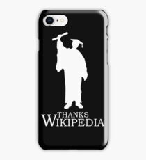 Thanks Wikipedia iPhone Case/Skin
