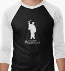 Thanks Wikipedia Men's Baseball ¾ T-Shirt