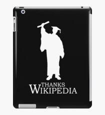 Thanks Wikipedia iPad Case/Skin
