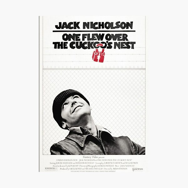 ONE FLEW OVER THE CUCKOO'S NEST Photographic Print