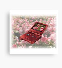 rose gold GAMEBOY 1999  Canvas Print