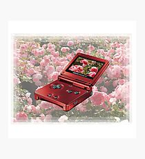 rose gold GAMEBOY 1999  Photographic Print