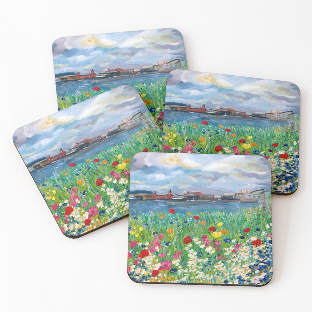 The dragons bed Coasters (Set of 4)