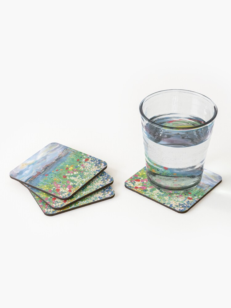Alternate view of The dragons bed Coasters (Set of 4)