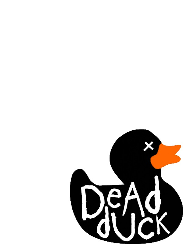 how to draw a dead duck