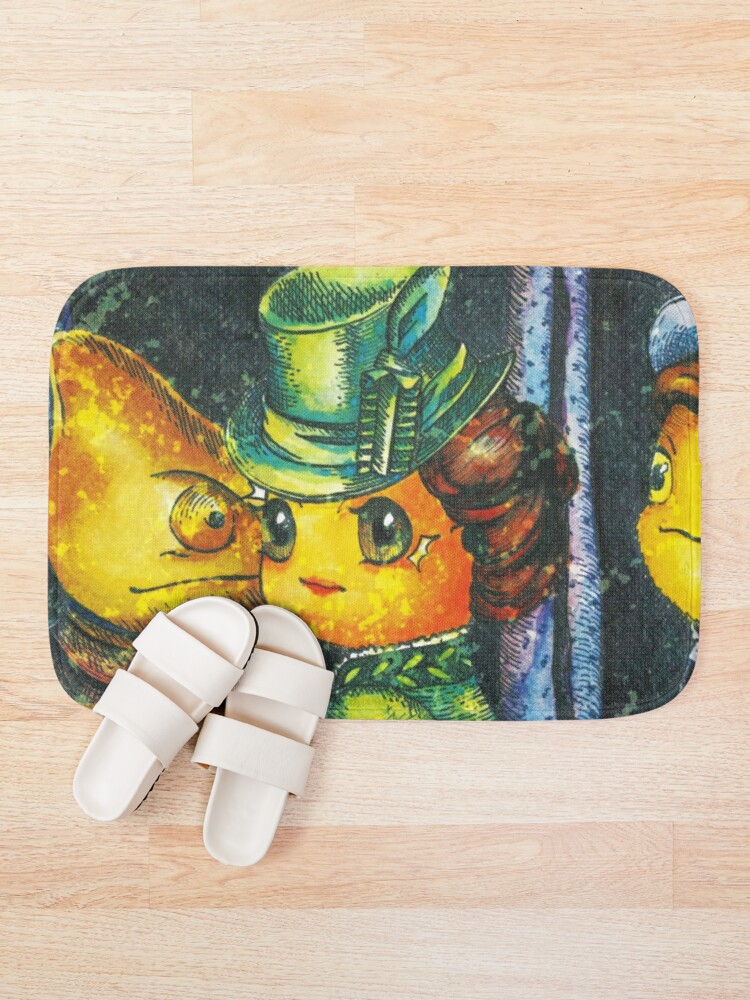 Alternate view of Movie inspired collection - Dracuzard - Mina Harker Bath Mat