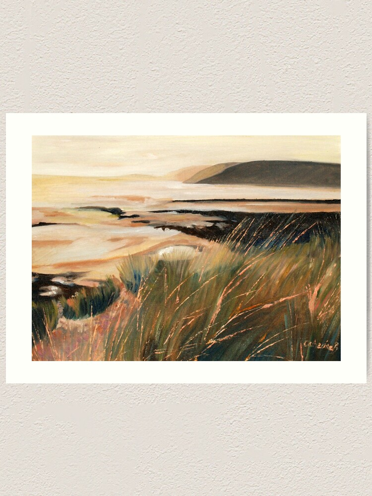 Alternate view of West Wales at Dusk Art Print