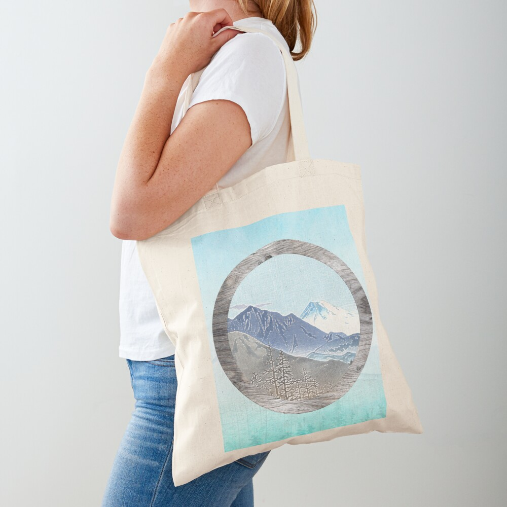 Looking to the mountains Tote Bag