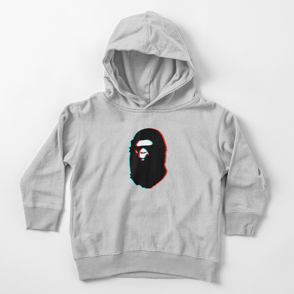 trippy bape Toddler Pullover Hoodie