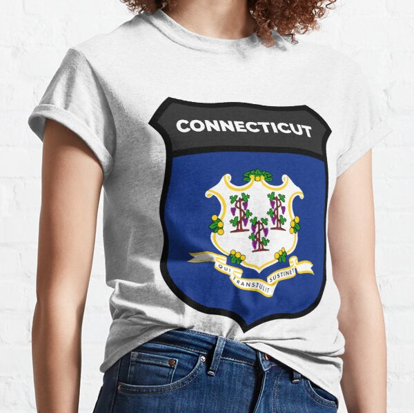 CONNECTICUT BADGE IV Classic T-Shirt