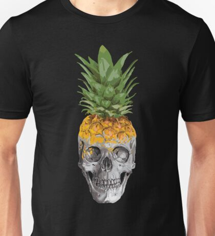 Pineapple skull Unisex T-Shirt