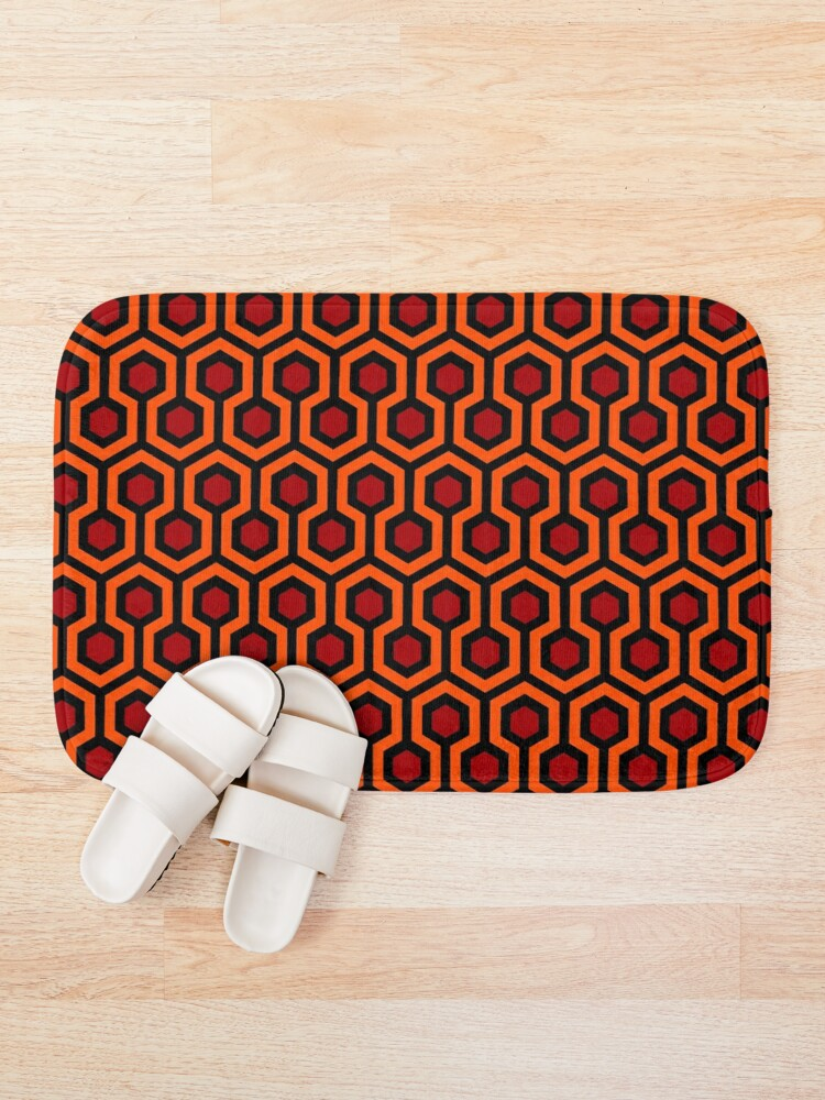 Alternate view of The Shining/Doctor Sleep - Overlook Carpet Pattern Bath Mat