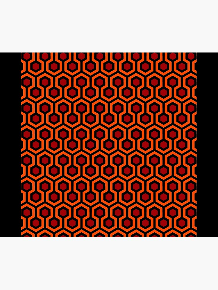 The Shining/Doctor Sleep - Overlook Carpet Pattern by Red-Ocelot86