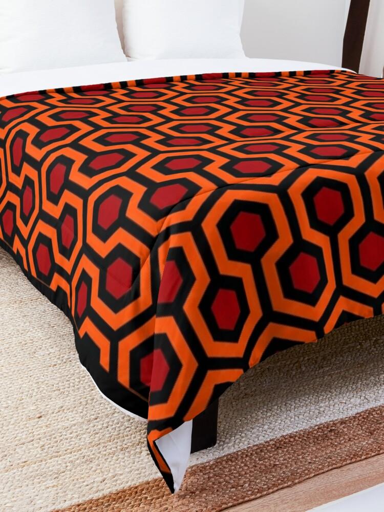 Alternate view of The Shining/Doctor Sleep - Overlook Carpet Pattern Comforter