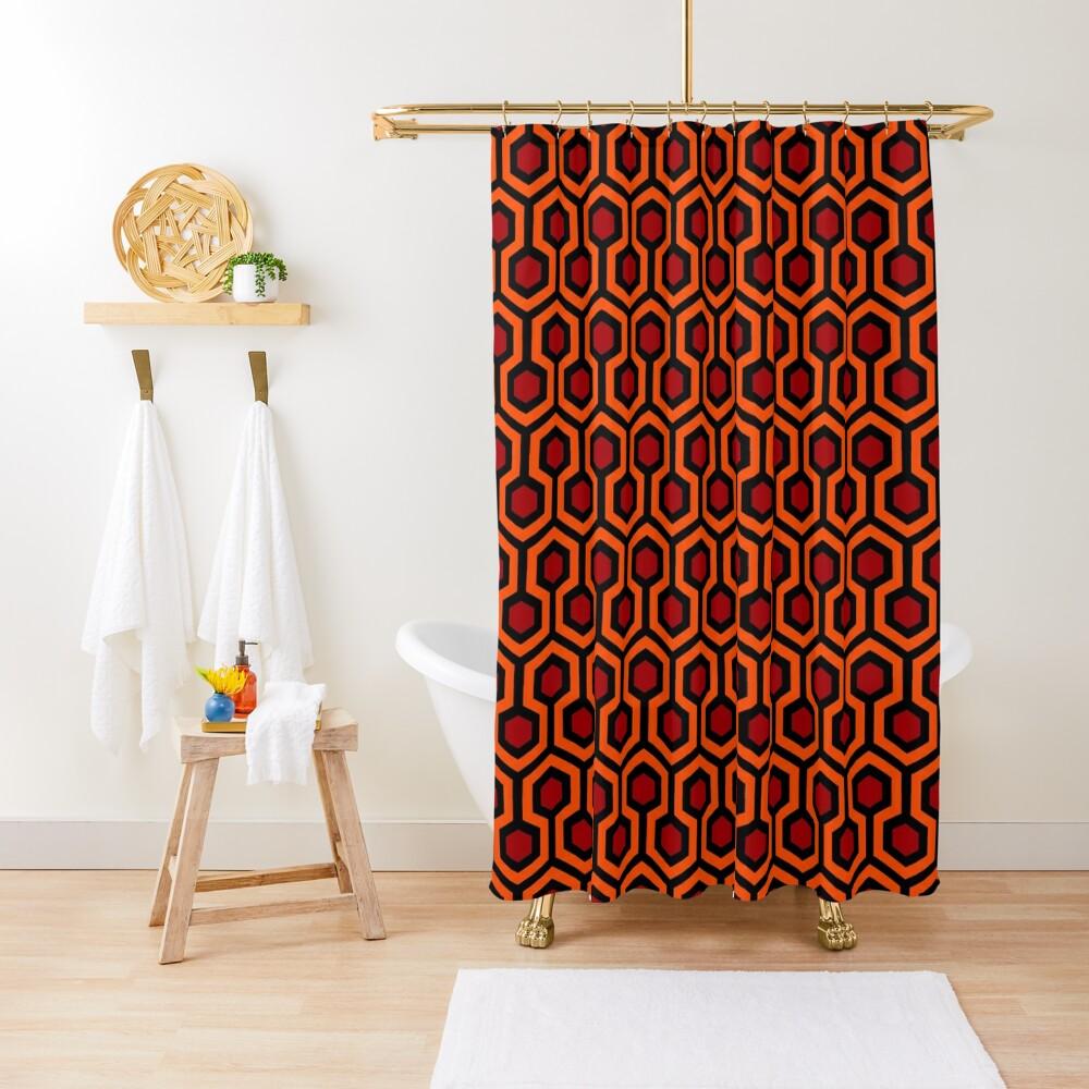 The Shining/Doctor Sleep - Overlook Carpet Pattern Shower Curtain