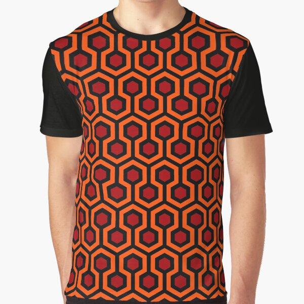 The Shining/Doctor Sleep - Overlook Carpet Pattern Graphic T-Shirt