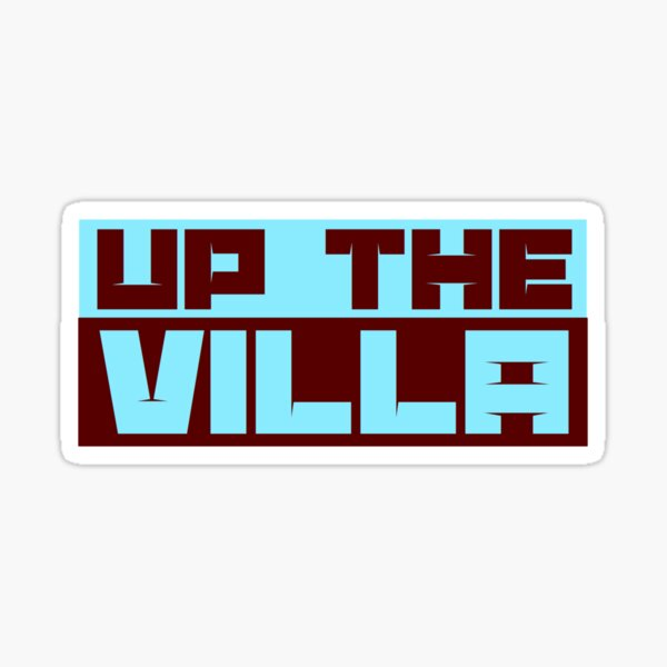 Up the Villa Sticker