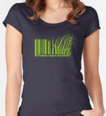Reduce reuse recycle Women's Fitted Scoop T-Shirt