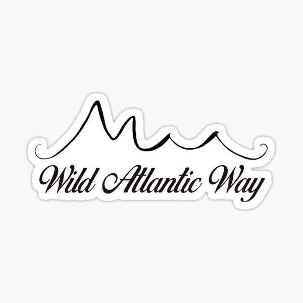 Wild Atlantic Way, Ireland Sticker