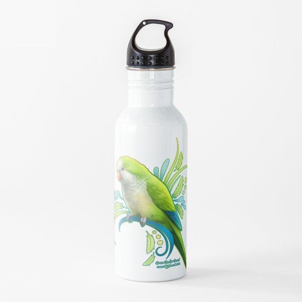 Green Quaker Parrot Water Bottle