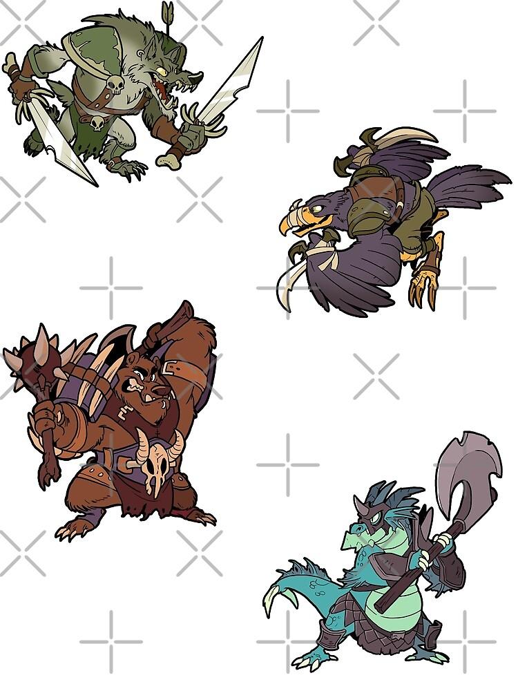 Beast Brigands by weremagnus